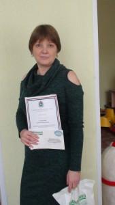 Победитель в номинации специалист по раннему развитию